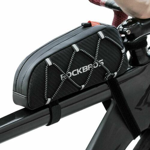 ROCKBROS Top Tube Bike Bag Bicycle Frame Bag Top Tube Aero Bag for All iPhone