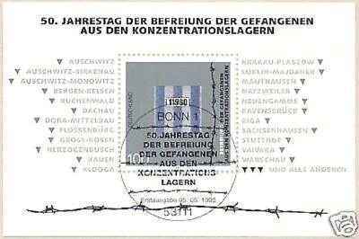 Fein Brd 1995: Gefangenenbefreiung! Block Nr. 32 Mit Bonner Ersttagsstempel! 1906