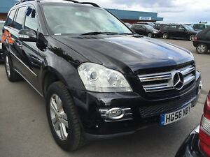 Details About 56 Mercedes Benz Gl320 3 0 Cdi 7 Seat Sat Nav Leather Front Seats Worn Bit