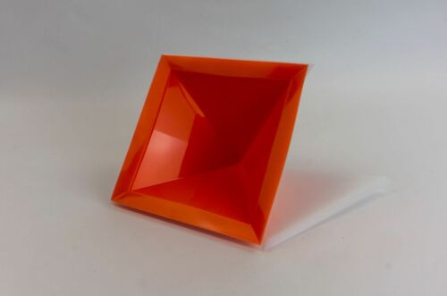 8 sided Cheops Pyramid Silicone Mold//Mould 120mm base