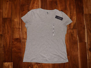 eb2b723f Image is loading NWT-Womens-TOMMY-HILFIGER-V-Neck-Gray-Heather-. Image not  available ...