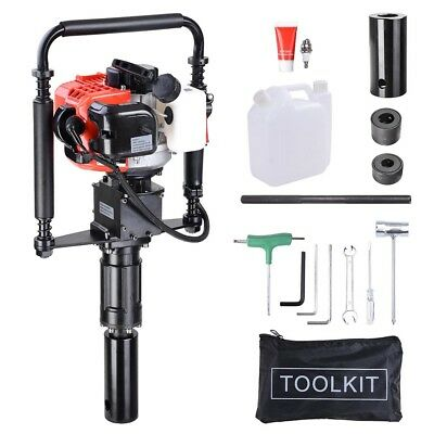 2 Stroke 32.7cc Gas Powered T Post Gasoline Piling Driver w/ EPA Certification