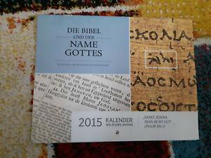 KALENDER 2015 Bibelforscher Zeugen Jehovas - Lindau, Deutschland - KALENDER 2015 Bibelforscher Zeugen Jehovas - Lindau, Deutschland