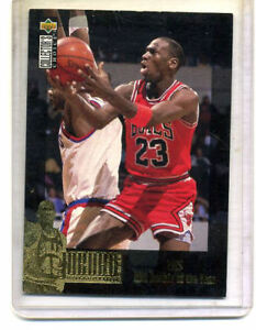Details About 1995 Upper Deck Michael Jordan Basketball 1985 Rookie The Year Cardjc1 Ref4442