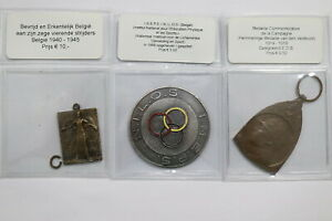 EUROPE-VINTAGE-TOKENS-MEDALS-LOT-B24-BRA8