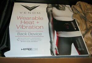 Hyperice Venom Wearable Heat + Vibration Back Device New
