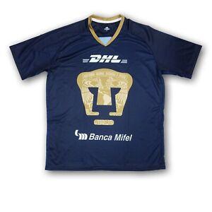 Pumas UNAM Men's Navy Blue/Gold Soccer