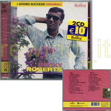 """ROCKY ROBERTS """"I GRANDI SUCCESSI ORIGINALI"""" RARO DOPPIO CD 2002 - SIGILLATO"""