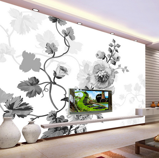 3D View Blossom 488 Wallpaper Murals Wall Print Wallpaper Mural AJ WALL UK Kyra