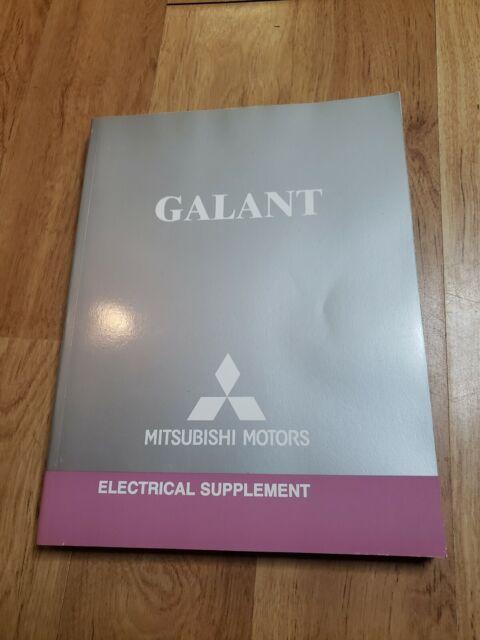 2006 Mitsubishi Galant Sedan Electrical Wiring Manual