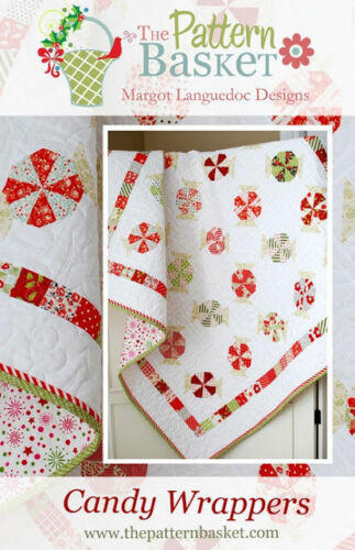 Quilt Pattern CANDY WRAPPERS Moda PATTERN BASKET Layer Cake Friendly CHRISTMAS