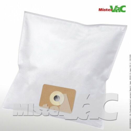 10x Staubsaugerbeutel geeignet Numatic Harry HDH201-11