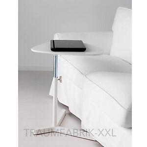 ikea laptoptisch laptop notebook netbook tisch laptopgestell verstellbar wei ebay. Black Bedroom Furniture Sets. Home Design Ideas