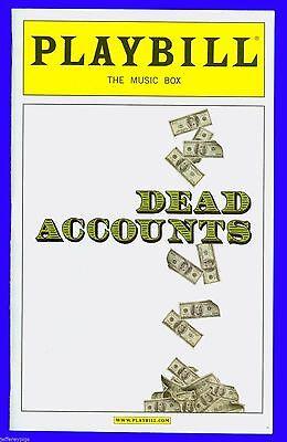 Playbill + Dead Accounts + Opening Night + Norbert Leo Butz , Katie Holmes