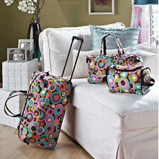 Kids Luggage Sets for Girls Women Teens Toiletry Tote Rolling ...