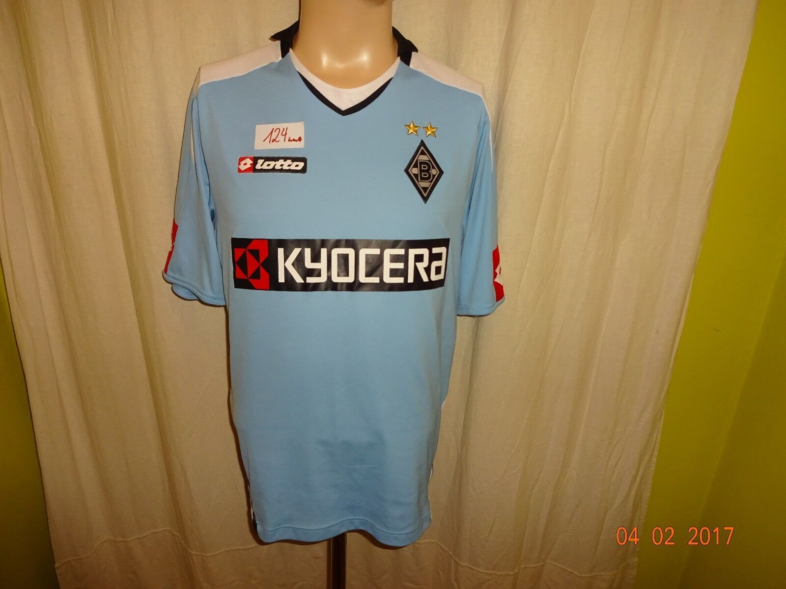 Borussia Mönchengladbach Lotto Auswärts Trikot 2008 09  KYOCERA  Gr.M