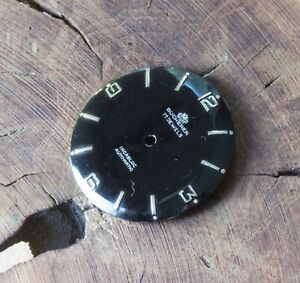 Vintage-Bucherer-automatic-watch-dial-29-45mm-mirror-black-silver-markers-1960s