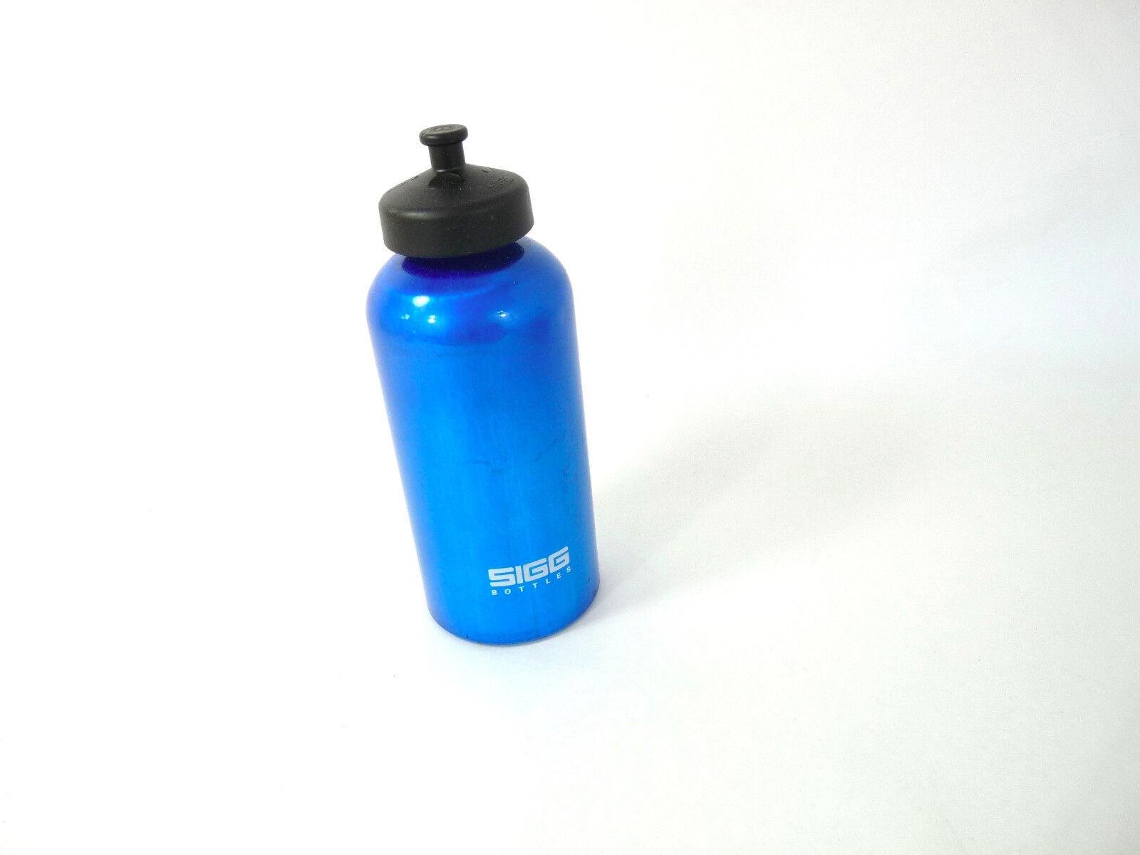 SIGG metal Water Bottle bluee Swiss  Made Vintage Road Bike NOS  best reputation
