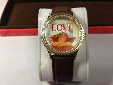 The P.S. Collection by ARJANG and Co.  Cupid Angel 55 cent Stamp Watch New!