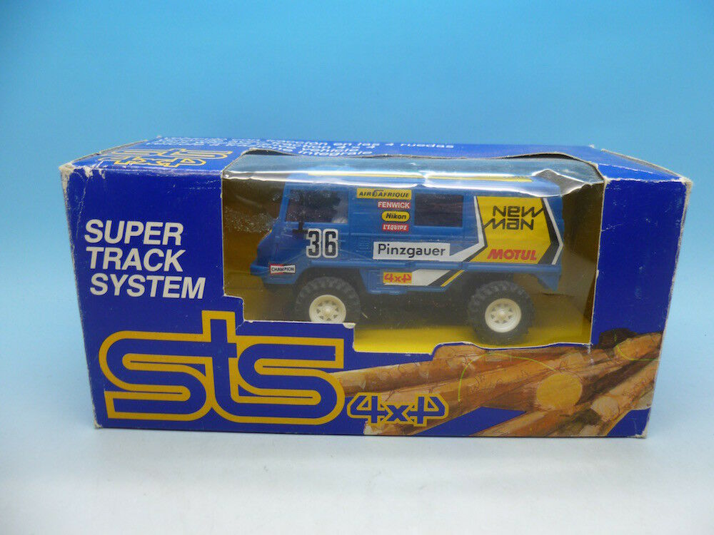 STS 4x4 Ref 2204 Pinzgauer bluee mint unused car and boxed