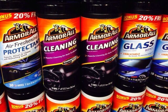 Armorall Cleaning Wipes  HIDDEN  DIVERSION SAFE HOME STASH CAN,MADE IN USA