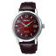 Seiko-Presage-Cocktail-Time-The-Negroni-Red-Men-039-s-Leather-Strap-Watch-SRPE41J1 thumbnail 1