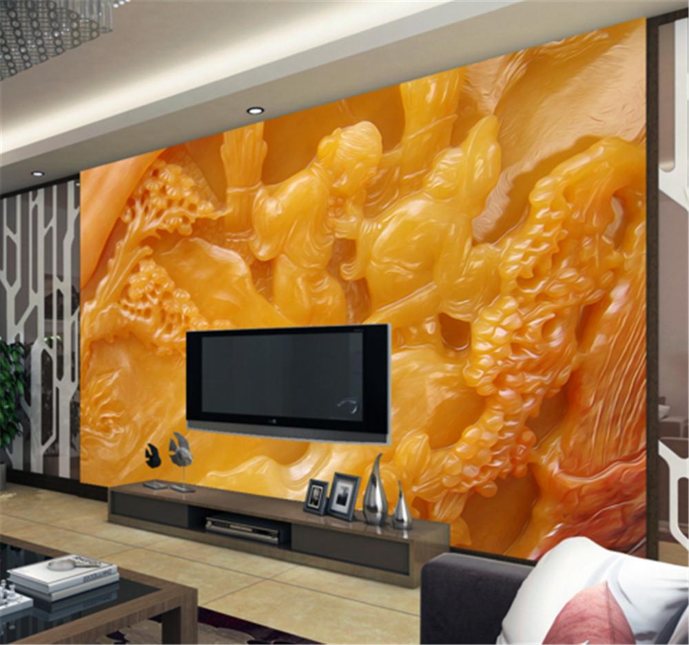 3D Classical Jade 72 Wallpaper Mural Paper Wall Print Wallpaper Murals UK Carly