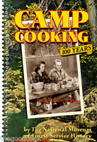 Camp Cooking Dutch Oven & Cast Iron Skillet Recipes Cookbook Trail Hikers Cowboy