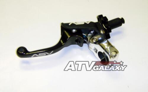 ASV F3 SHORTY Pro Clutch Lever Perch BLACK Yamaha YFZ450R YFZ450 YFZ 450R 450