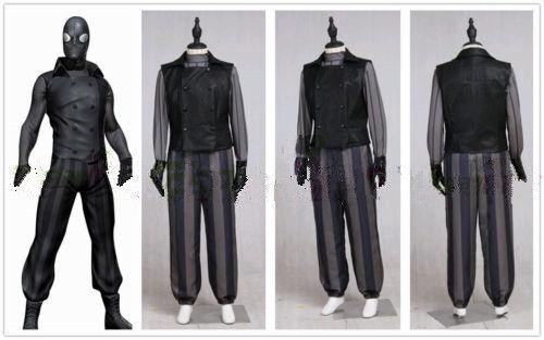 Marvel Comics Cosplay Spiderman Noir Cosplay Costume custom made size:
