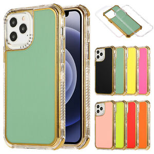 For iPhone 12/11 Pro Max 12 8 7 6 SE2 2020 Case Shockproof Hybrid Clear Cover
