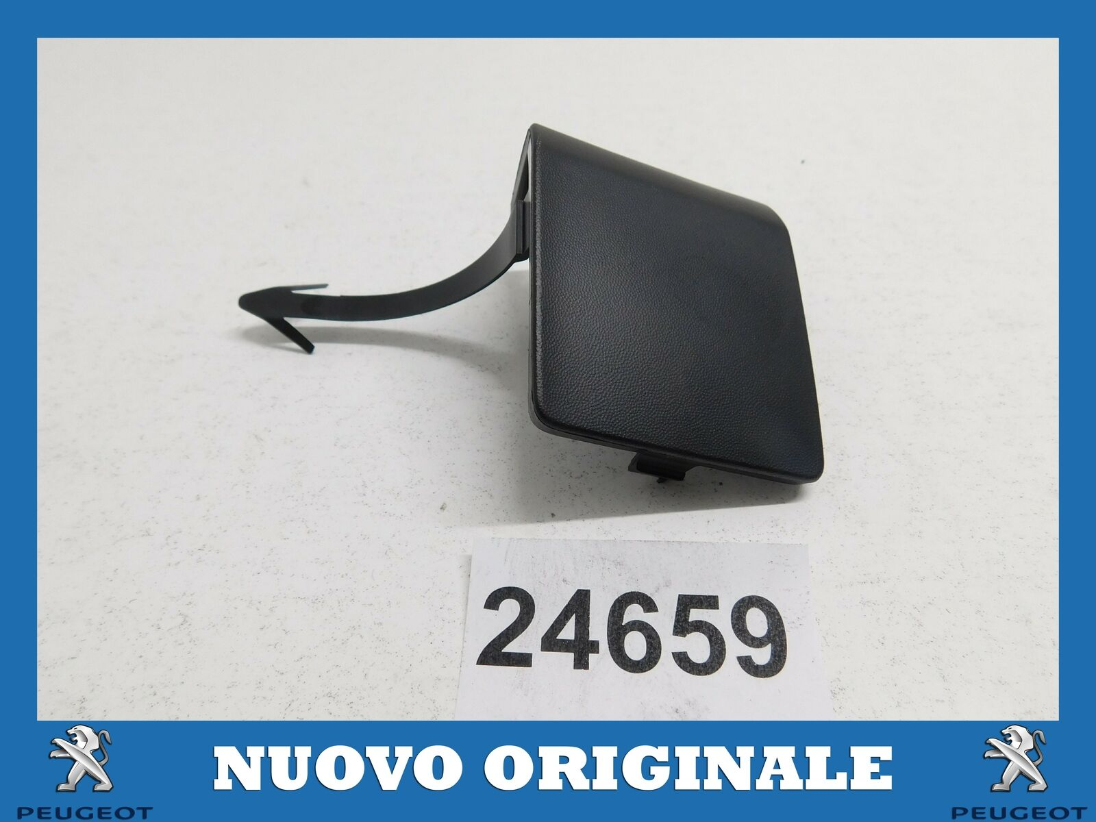 Genuine New Citroen Berlingo B9 2008// Onwards Front Tow Eye Cover 7414ZQ