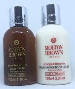 Molton-Brown-Black-Peppercorn-Body-Wash-amp-Orange-Bergamot-Body-Lotion-100ml