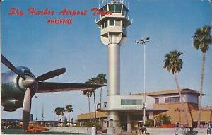 Phoenix-ARIZONA-Sky-Harbor-Airport-1963-propeller-plane-prop-airplane
