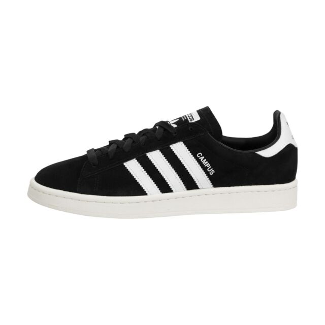 best loved 5398f 12e9a Mens adidas Campus Core Black Running White Chalk White Bz00