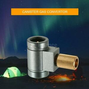 Camping-Stove-Cylinders-Lindal-Valve-Gas-Canister-Convertor-Refill-Adapter-G6D3