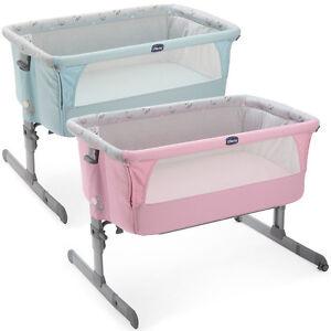 original chicco side sleeping crib next2me baby crib next 2 me co sleep sleeping ebay. Black Bedroom Furniture Sets. Home Design Ideas