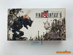 FINAL FANTASY VI 6 Nintendo Super Famicom SNES SFC JAPAN Ref:313303