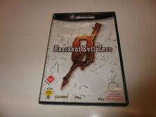 Nintendo Game Cube  Resident Evil Zero
