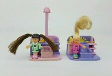 Vintage Polly Pocket Comb'n Curl Salon Hair Salon almost 1995