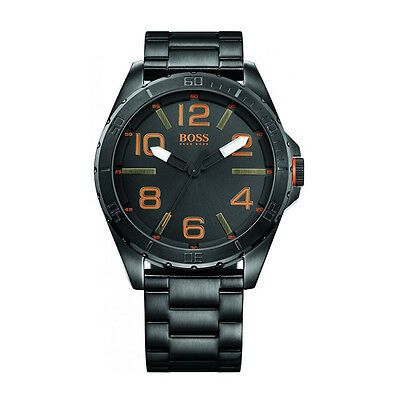 Hugo Boss Orange 1513001 Men's Stainless Steel Case Black Dial Quartz Watch