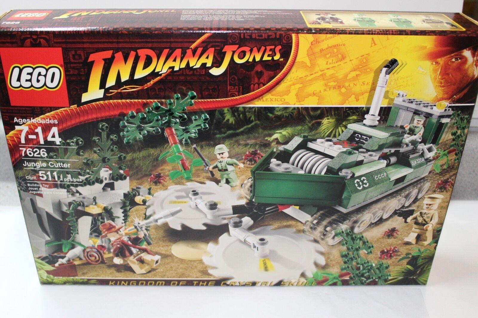 Lego 7626 indiana jones Jungle Cutter Neuf dans sa boîte livraison gratuite