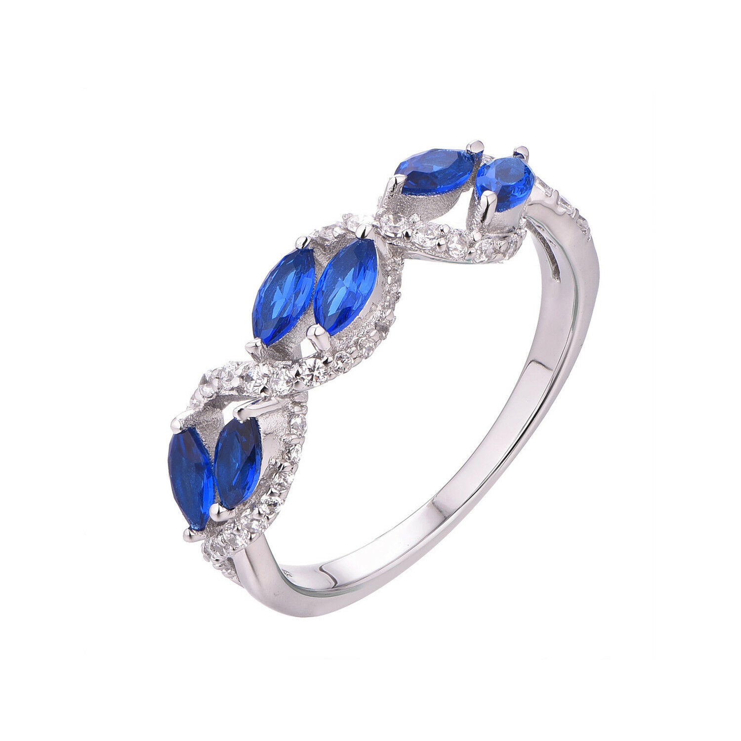 Sapphire Diamond Ring in 14K gold. real genuine Natural sapphire=0.91 carat