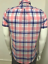 Mens-Chain-store-Cotton-Colourful-Summer-Check-Casual-Smart-Shirt-In-6-Patterns