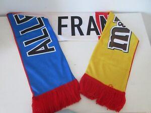 Écharpe supporter Foot M M s Allez la France - NEUF - France - EBay Écharpe  supporter M M s bc57c8cac74
