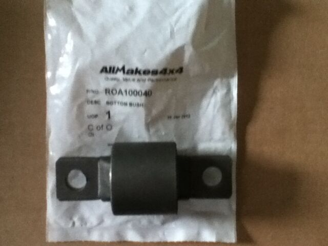 LAND ROVER DISCOVERY 2 FRONT SHOCK ABSORBER BUSHES PAIR LOWER BUSHES ROA100040