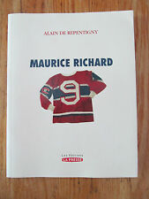 Maurice Richard Rocket Canadiens de Montréal Alain de REPENTIGNY 2005