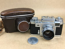 Zeiss Contax IIIA Camera w/ 50mm f/1.5 Sonnar T Zeiss-Opton Lens - Works Great
