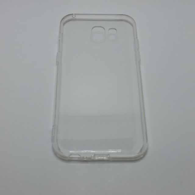 Samsung A5 (2017) A520 - Clear Transparent Silicone Phone Case With Dust Plug