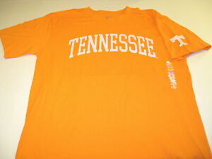 University-of-Tennessee-Embroidered-Orange-T-Shirt-New-NWT-LARGE-Volunteers